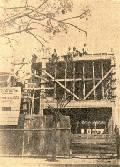 Escuelas Scholem Aleijem - Mataderos - Construccion del esqueleto - 1947.