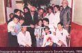 Inaugurando nuevos espacios en el Scholem - 1986.